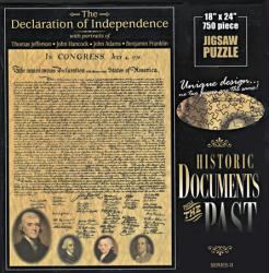Declaration of Independence jigsaw puzzle: 750 pc Historic Documents