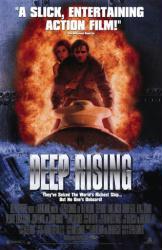 Deep Rising movie poster [Treat Williams/Famke Janssen] video version