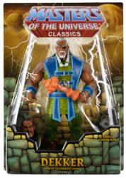 Masters of the Universe Classics: Dekker action figure (Mattel/2012)