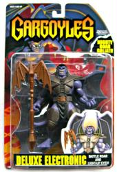 Gargoyles: Deluxe Electronic Mighty Roar Goliath figure (Kenner/1995)