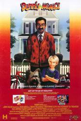 Dennis the Menace movie poster [Walter Matthau & Mason Gamble] video