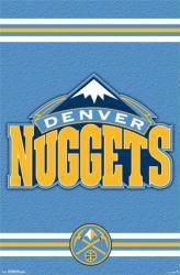 Denver Nuggets poster: Logo (NBA) 22x34