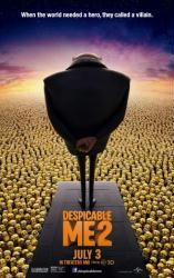 Despicable Me 2 movie poster (original 27 X 40 advance)