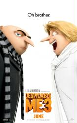 Despicable Me 3 movie poster (2017) original 27x40 advance