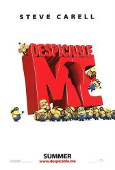 Despicable Me movie poster (original 27'' X 40'' advance)