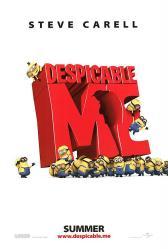 Despicable Me movie poster (original 27'' X 40'' advance)