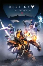 Destiny: The Taken King video game poster (22x34) Cover Art