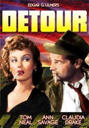 Detour movie poster [Tom Neal/Ann Savage] Edgar G. Ulmer (11'' X 17'')