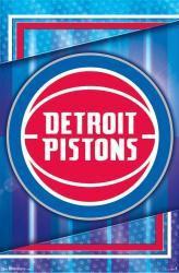Detroit Pistons poster: Logo (NBA) 22x34