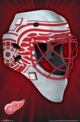 Detroit Red Wings poster: Mask (NHL) 22x34
