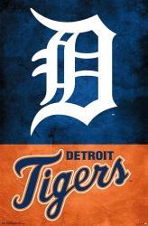 Detroit Tigers poster: Logo (MLB) 22x34