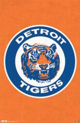 Detroit Tigers poster: Retro Logo (MLB) [22 1/2'' X 34'') New