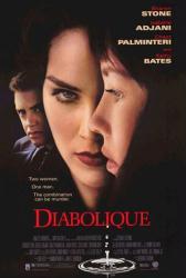 Diabolique movie poster [Sharon Stone, Isabelle Adjani] 27x40