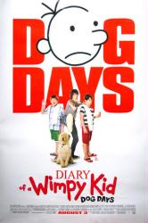 Diary of a Wimpy Kid: Dog Days movie poster (27x40 original) 2012