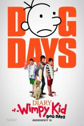 Diary of a Wimpy Kid: Dog Days movie poster [Zachary Gordon] 27x40