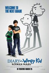 Diary of a Wimpy Kid: Rodrick Rules movie poster (2011) original