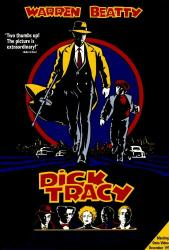 Dick Tracy movie poster (1990) [Warren Beatty] 27x40 video version