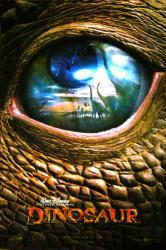 Dinosaur movie poster (Disney animated) original 27 X 40 advance