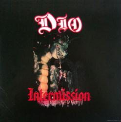Dio poster: Intermission vintage LP/Album flat