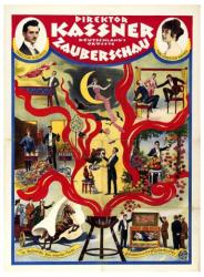 Direktor Kassner Deutschland's Grosste Zauberschau poster (18x24)