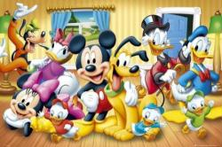 Disney Characters poster: Mickey Mouse & the Gang (36'' X 24'') New