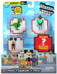 Disney Crossy Road Mini Figurine 4 Pack (Series 1)