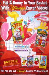 Disney's Easter Videos poster [Roger Rabbit] video poster