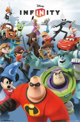 Disney Infinity video game poster (22 X 34) New