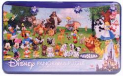Disney Panorama Jigsaw Puzzle (211-piece) Collector's Tin