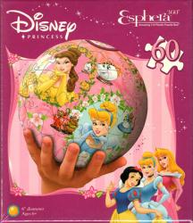 Disney Princess Esphera 360 Amazing 3-D Plastic Puzzle Ball (60-piece)