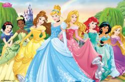 Disney Princess poster: Group (34x22) Eight Princesses