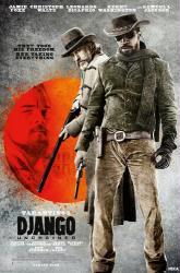 Django Unchained movie poster [Jamie Foxx/Christoph Waltz/DiCaprio]