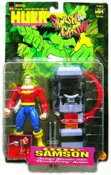 The Incredible Hulk [Smash and Crash] Doc Samson figure (ToyBiz/1997)