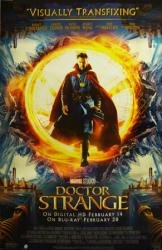 Doctor Strange movie poster [Benedict Cumberbatch] 26x40 video version