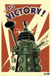 Doctor Who poster: To Victory (24'' X 36'') New