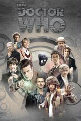 Doctor Who poster: Eleven Doctors (24 X 36) BBC