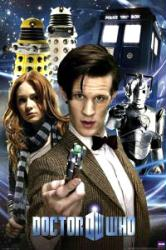 Doctor Who poster: Collage [Matt Smith] BBC (24x36)