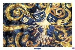 Doctor Who poster: Exploding Tardis (36x24) New