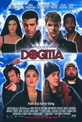 Dogma movie poster [Ben Affleck, Matt Damon, Chris Rock, Kevin Smith]