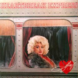 Dolly Parton poster: Heartbreak Express vintage LP/Album flat (1982)
