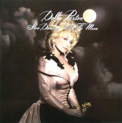 Dolly Parton poster: Slow Dancing with the Moon vintage LP/album flat