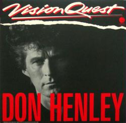 Don Henley poster: Vision Quest soundtrack vintage LP/Album flat