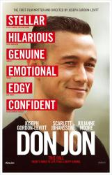 Don Jon movie poster [Joseph Gordon-Levitt] original 27 X 40