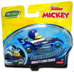 Mickey and the Roadster Racers: Supercharged Donald's Cabin Cruiser