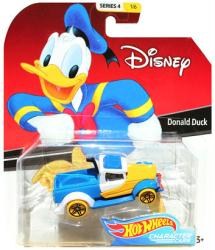 Hot Wheels Character Cars: Disney Donald Duck die-cast vehicle
