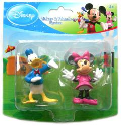 Mickey & Friends [Disney] Donald Duck & Minnie Mouse figurines