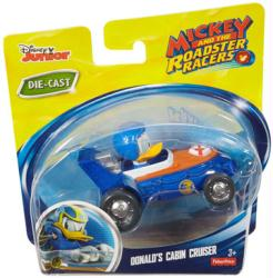 Mickey and the Roadster Racers: Donald's Cabin Cruiser die-cast