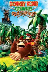 Donkey Kong Country Returns poster [Nintendo Wii] 22 1/2'' X 34''