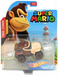 Hot Wheels Character Cars: Super Mario Donkey Kong die-cast vehicle