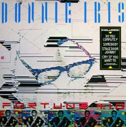 Donnie Iris poster: Fortune 410 vintage LP/Album flat